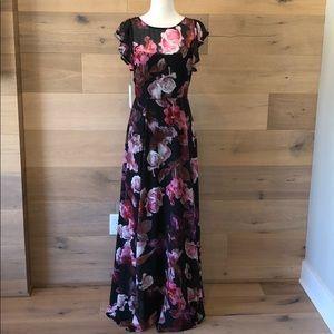BB Dakota Floral Maxi Dress